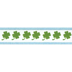 3-Pc. Shamrock Border Sticker Set
