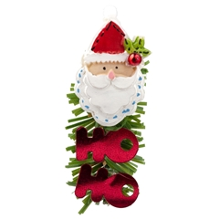 Jolly Santa Decoration
