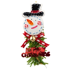 Jolly Snowman Decoration