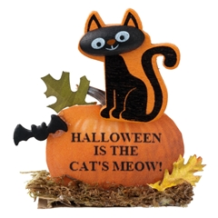 Halloween is the Cat's Meow Yard Sign