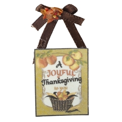 Joyful Thanksgiving Sign
