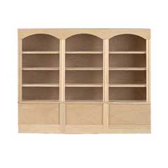 Three-Unit Bookcase