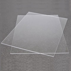 Two 9 inch x 12 inch Sheets of Plexiglass by Houseworks