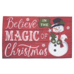 Believe in the Magic of Christmas Mat