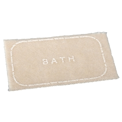 "Tan ""Bath"" Mat"