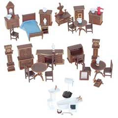 1/4 inch Scale Furniture Kits
