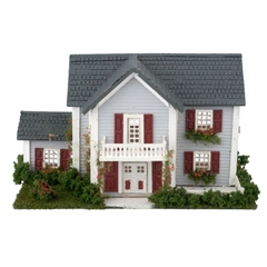 1/144 Scale Colonial Dollhouse Kit