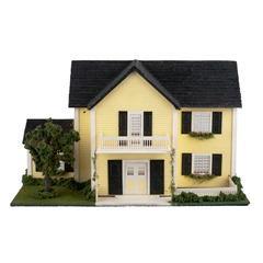 1/48 Scale Colonial Dollhouse Kit
