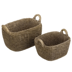 Pair of Oblong Baskets
