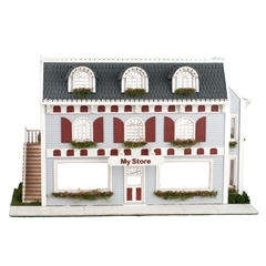 1/48 Scale Victorian Shop Kit