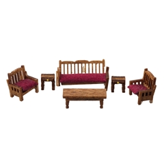 1/144 Scale Country Living Room Furniture Kit
