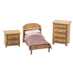 1/48 Scale Country Child's Room Furniture Kit