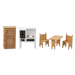 1/48 Scale Country Kitchen Furniture Kit