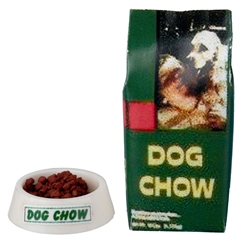 2-Pc. Dog Chow Set