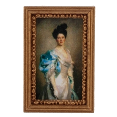 Victorian Lady Framed Print