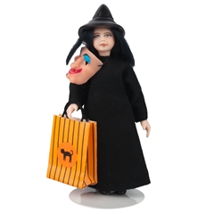 Witch Trick-or-Treat Doll
