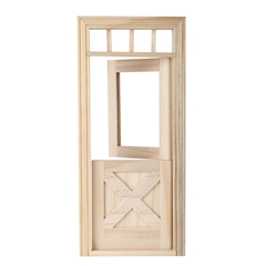 Crossbuck Dutch Door