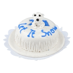 """Let It Snow"" Cake"