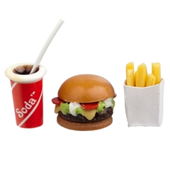 3-Pc. Deluxe Hamburger Take-Out Meal