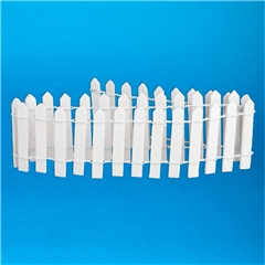 "2""H White Picket Fence"