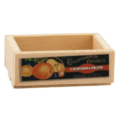 California Fruits Crate