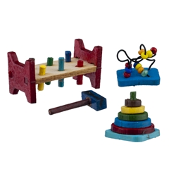 Three Baby Toys Mini Kit