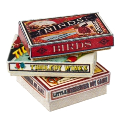 12 Vintage Game Box Kits