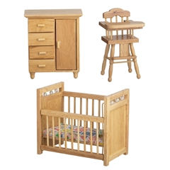 3-Pc. Oak Nursery Set