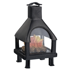 San Antonio Outdoor Fireplace