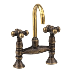 Antique Brass Retro Faucet Set