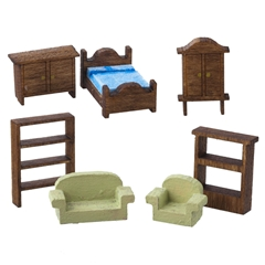 Emily's Tiny 7-Pc. Furniture Kit