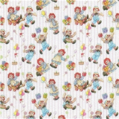 Ann and Andy Fabric Sheet