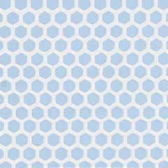 Blue Small Hexagon Tile Sheet
