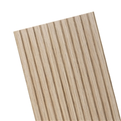 "3/16"" Lap Oak Beadboard Sheet 12""L"
