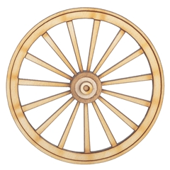 "3"" Wagon Wheel"