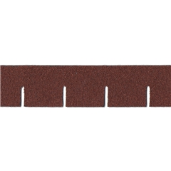Red Asphalt Square Shingle Strips