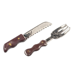 Carving Knife and Fork Set