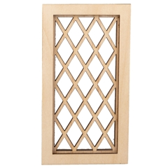Tudor Diamond Window