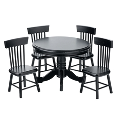 5-Pc. Oxford Table and Chair Set