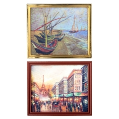 Two Framed Impressionist Prints