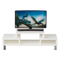 Flat Screen TV with Modern Console
