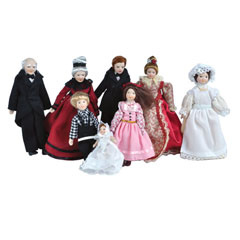 The Gladstone Family Dolls