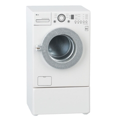 Front-Loading Washer with Laundry Drawer