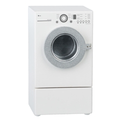 Front-Loading Dryer with Laundry Drawer