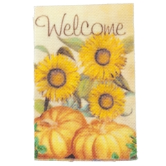 Harvest Welcome Flag for Garden Stand