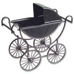 Black Baby Carriage