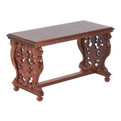 Gryphon Walnut Library Table