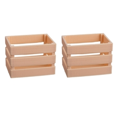 Two Heavy Duty Crates