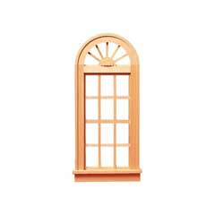Playscale Palladian Window