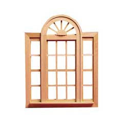 Playscale Circlehead Double Casement Window